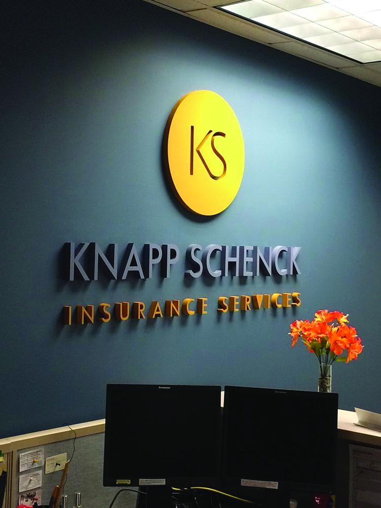 Knapp Schenck Internal Signage