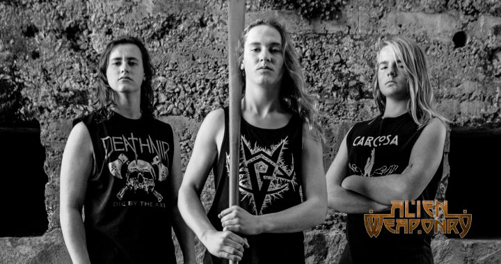 Lewis de Jong and Ethan Trembath of Alien Weaponry