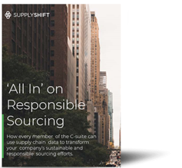 'All-in' on Responsible Sourcing