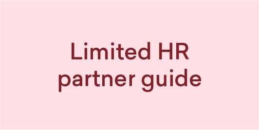 Limited HR partner Guide