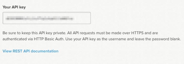 Grab Delighted API Key