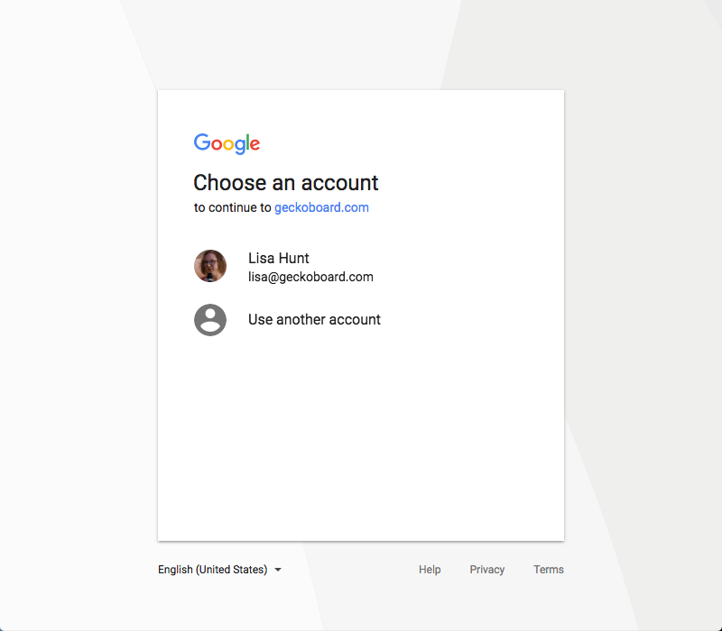 Log in to your Google AdWords account