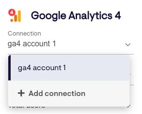 Change your Google Analytics 4 account