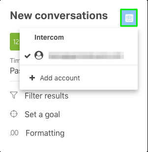 Connect to Intercom