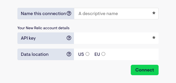 Connect Geckoboard with New Relic