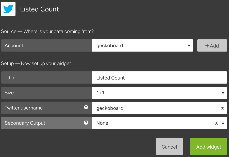 Listed_Count_Setup