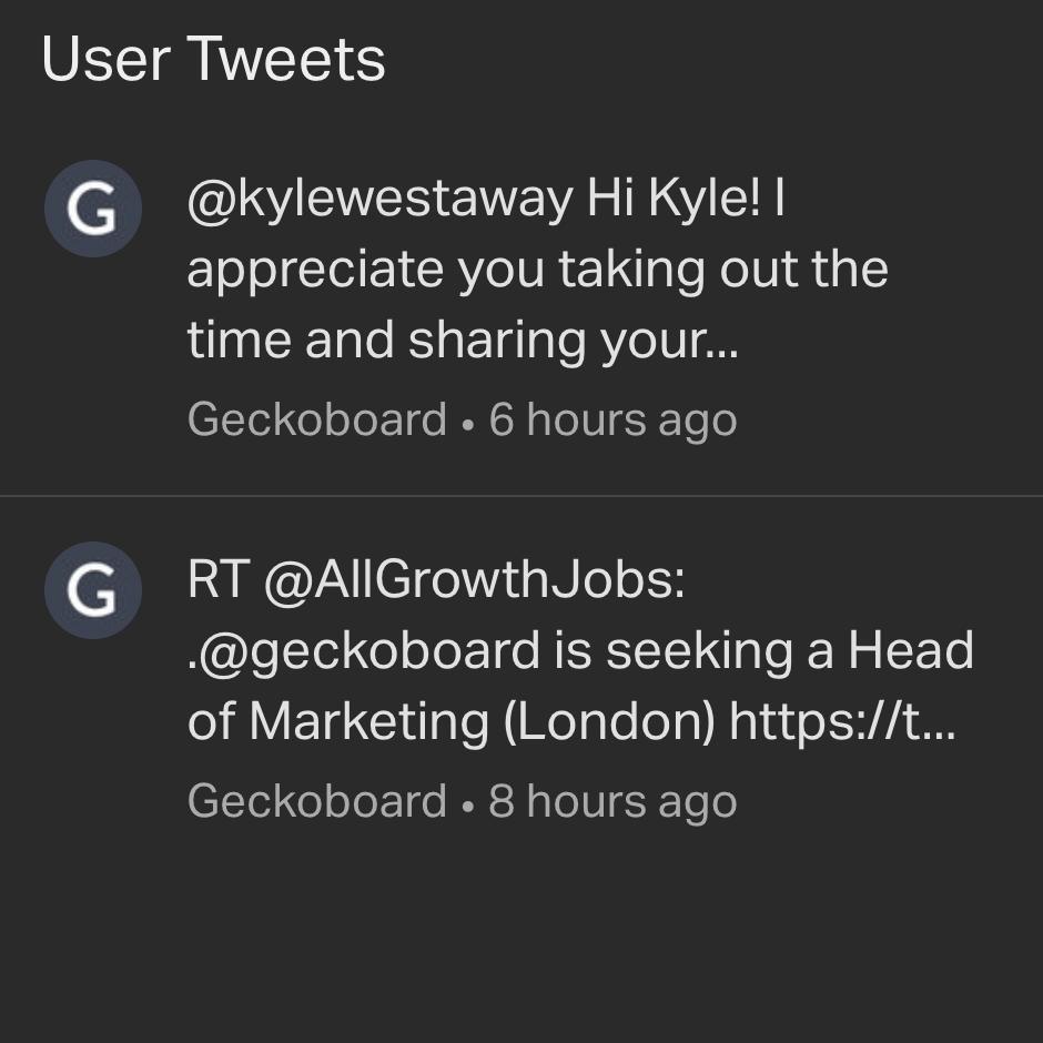 User_Tweets_Widget