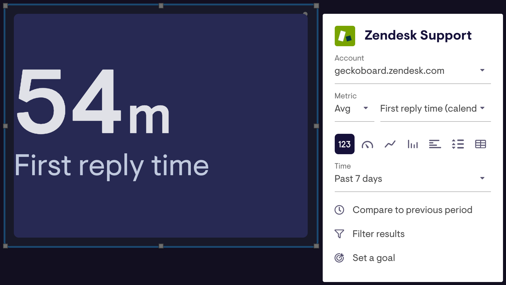 zendesk support edit widget menu