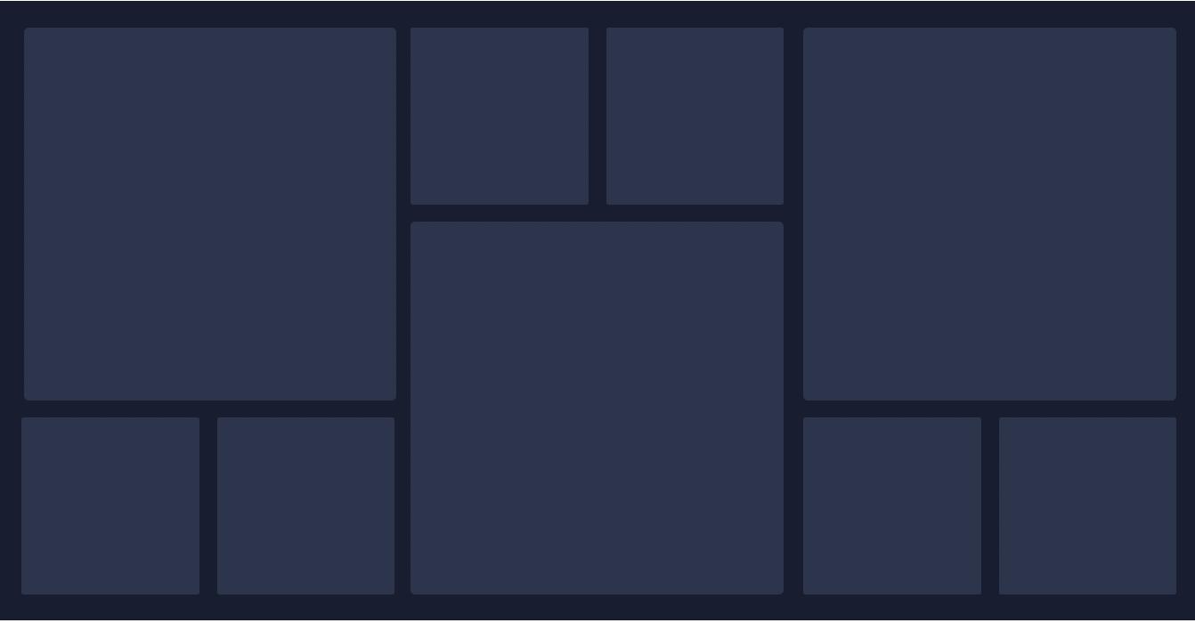 comfortable dashboard layout