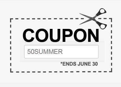 50% Coupon Code!