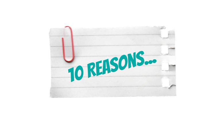 Ten Reasons To Send Customer Surveys