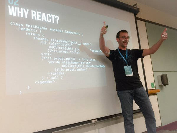 Josh Broton: React: it's just javascript, but it's not, but it is