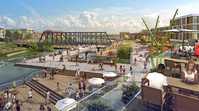 Fort Wayne, Indiana - Riverfront Master Plan