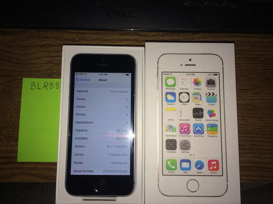iphone 5s for sale t mobile blr881 apple iphone 5s t mobile for 299 swappa 19326
