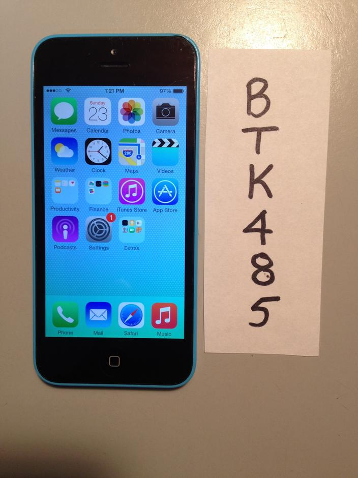 iphone 5c sprint btk085 apple iphone 5c sprint for 145 swappa 1993