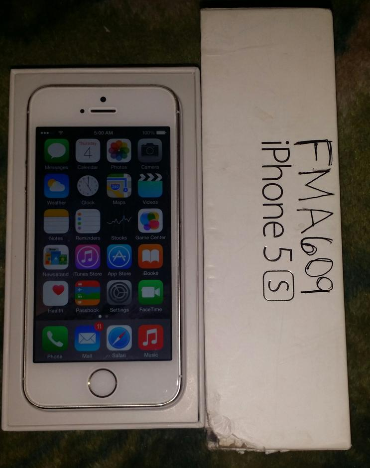 sprint iphones for sale fma609 apple iphone 5s sprint for 235 swappa 16188