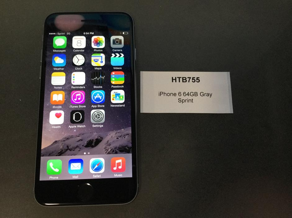 iphone 6 at sprint htb755 apple iphone 6 sprint for 460 swappa 3520