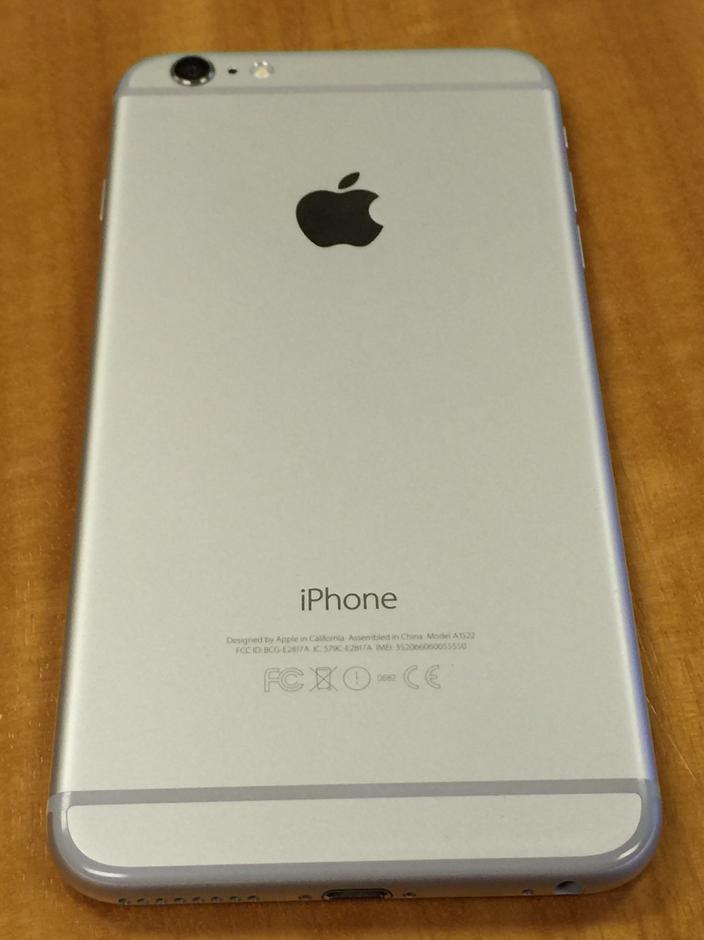 iphone model a1522 apple iphone 6 plus at amp t a1522 silver 128 gb in 1568