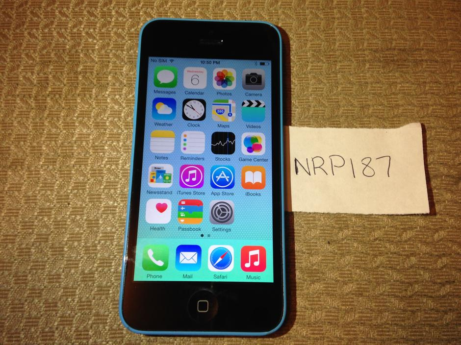 iphone 5c unlocked for sale nrp187 apple iphone 5c unlocked for 175 swappa 5324