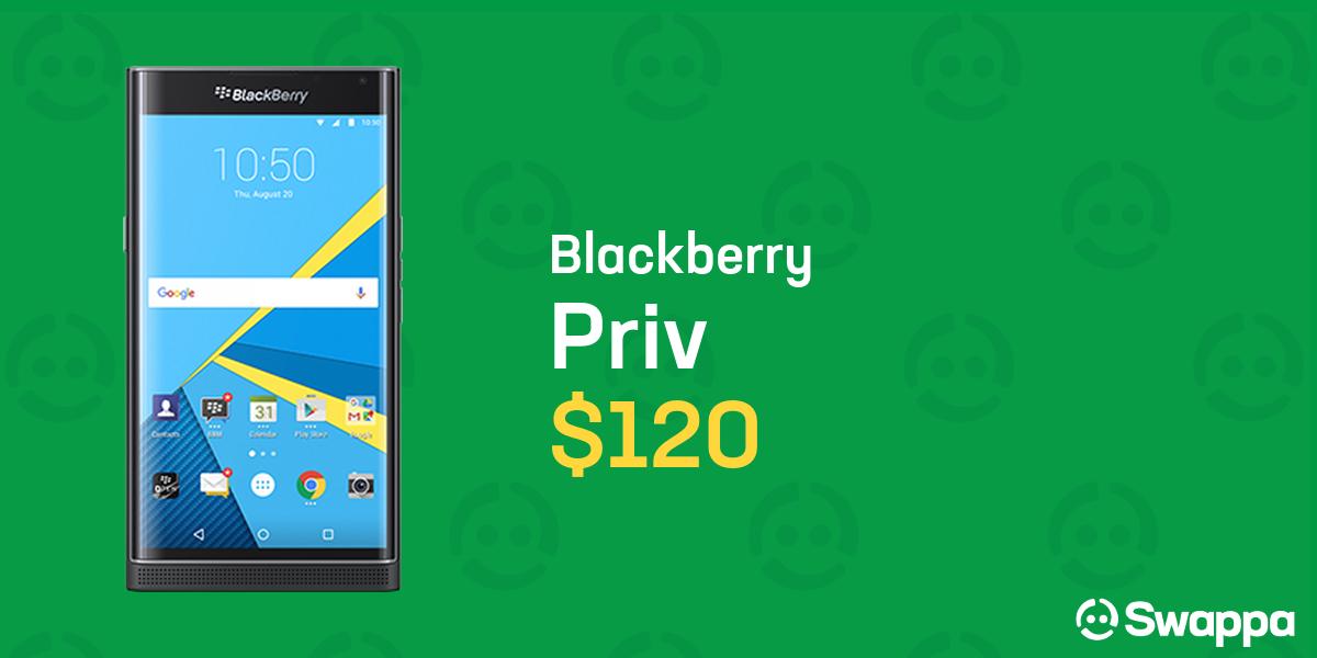 Blackberry Priv (T-Mobile) [STV100-1] - Black, 32 GB