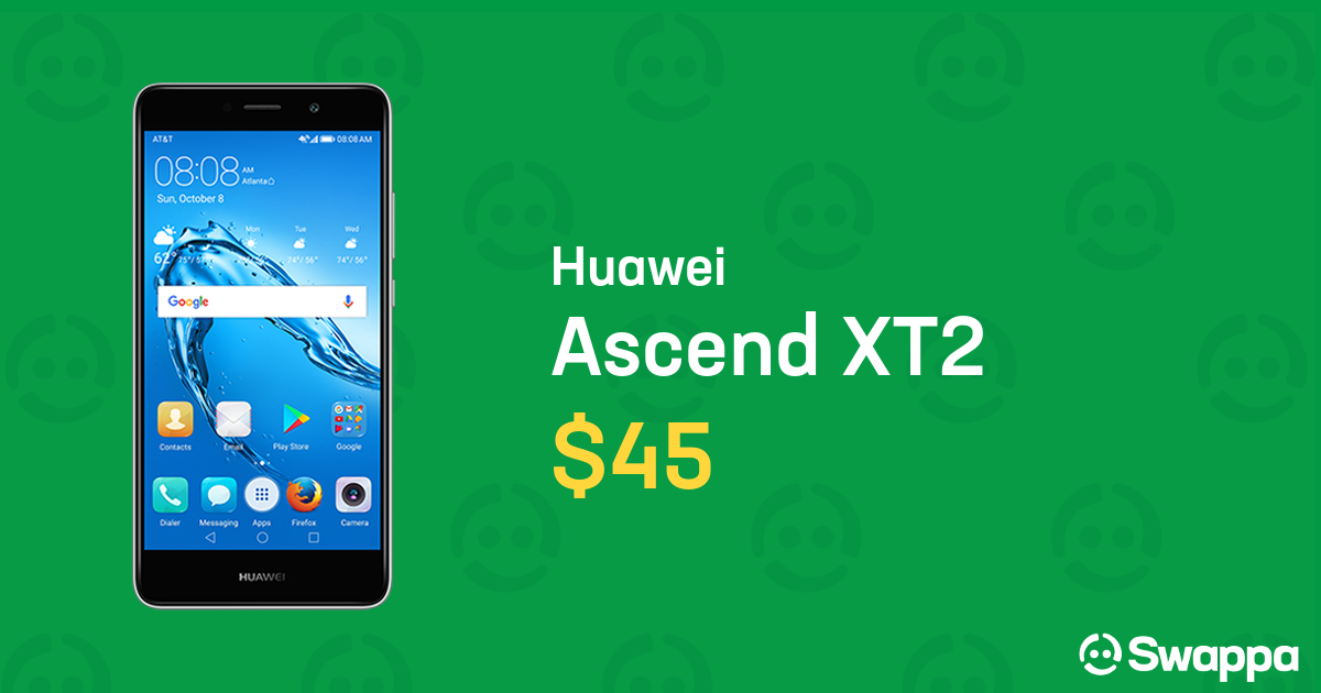 Huawei Ascend XT2 (AT&T) [H1711], Prepaid - Silver For Sale - $45 on Swappa  (LRQY61827)
