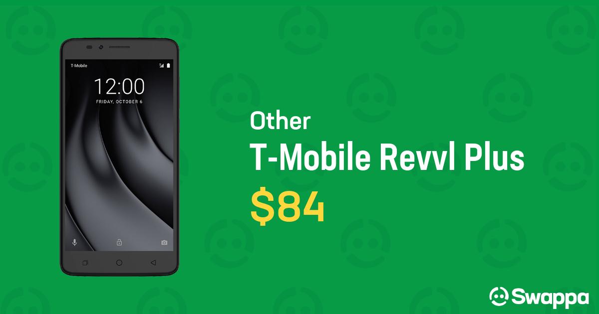 T-Mobile Revvl Plus (T-Mobile) - Black For Sale - $84 on Swappa (LRSD13317)