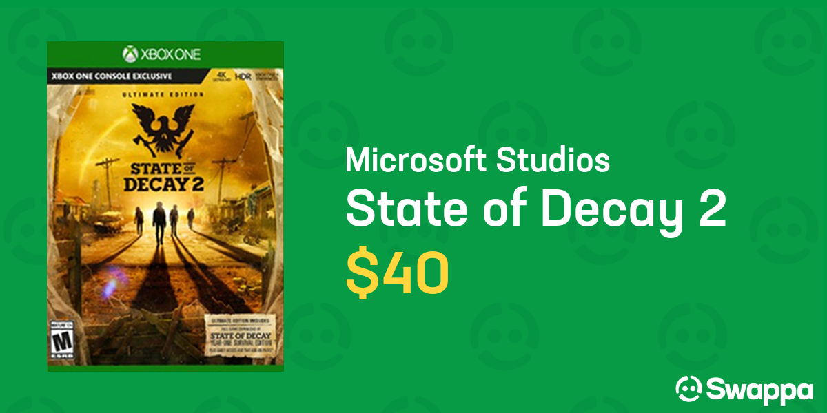 State of Decay 2, Ultimate Edition for Xbox One