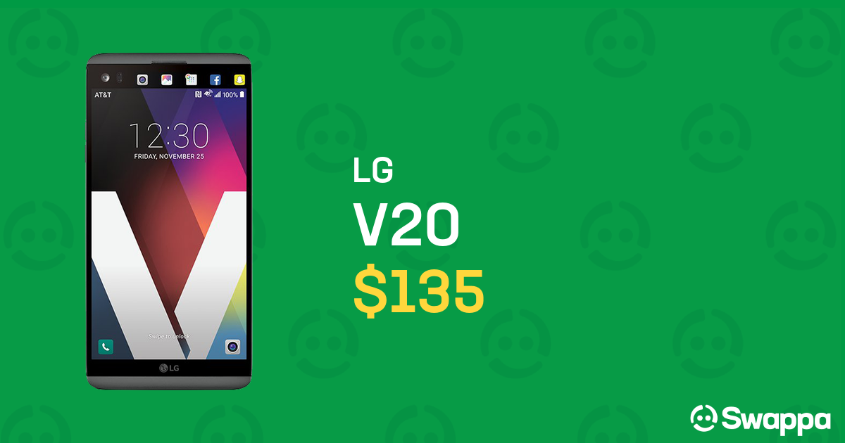 LG V20 (T-Mobile) [H918] - Gray, 64 GB For Sale - $135 on Swappa (LRUL21184)