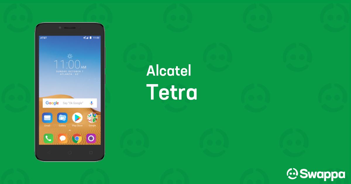 Buy AT&T Alcatel Tetra - Swappa