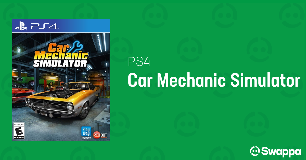 Used Car Mechanic Simulator game for PlayStation 4 - Swappa
