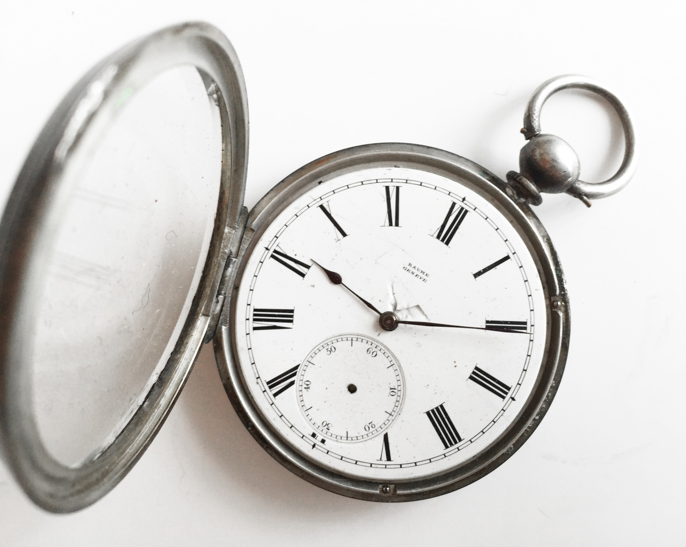 Baume Genève 1920s Fine Silver Antique Pocket Watch Buy On Swappy