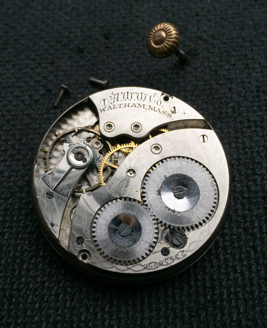 a65638148e9 Vintage WALTHAM Pocket Watch Movement #14. Share: Posted on: November 22  2016