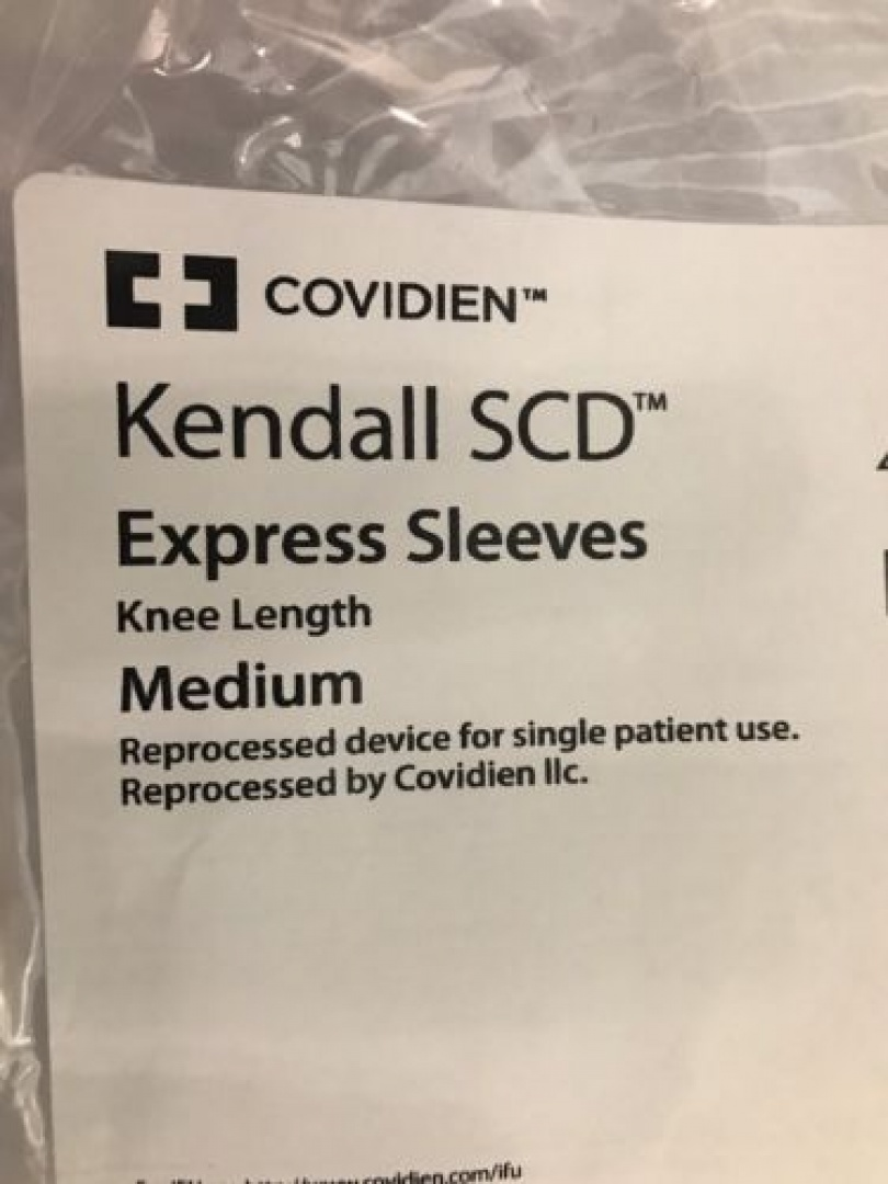 8bd2c3b48c Box 5 Covidien Kendall SCD Express Sleeves Knee Length MEDIUM Ref: 9529r  Sleeve