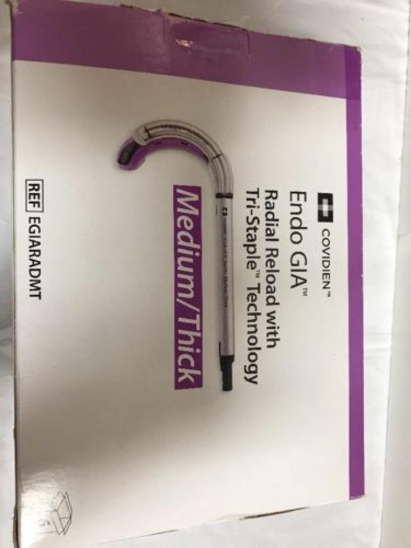 Covidien Endo GIA Radial Reload Medium Thick Tri Stapler EGIARADMT Box Long  Date