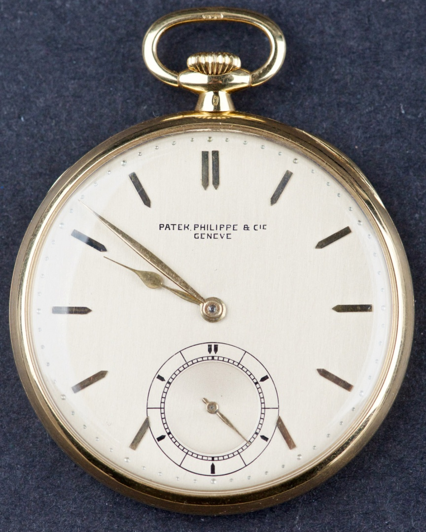 3e9ec8600d6 Antique 18 Kt Gold Patek Philippe   Cie Geneve Pocket Watch buy on ...