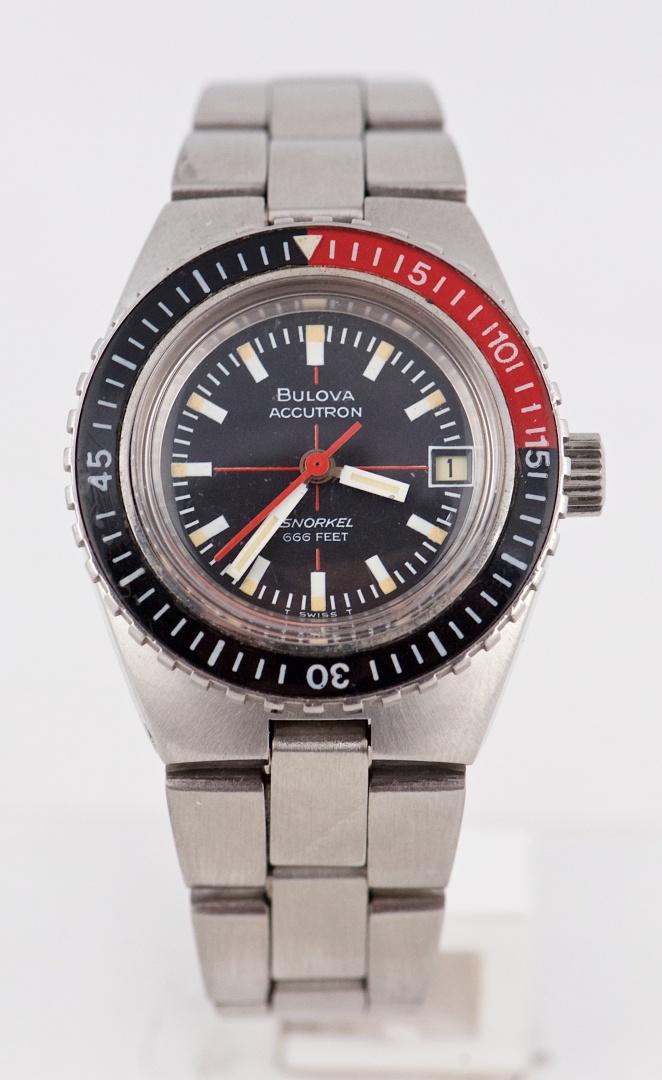 Understand sale vintage bulova dive watch