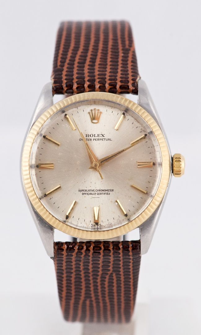 "1964 Rolex Oyster Perpetual Two-Tone ""Underline"" Dial Ref 1002 ... a5c668ac82f"