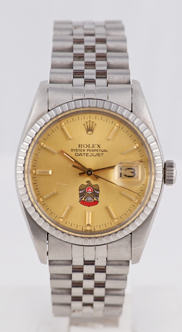 "70a89e8d0916 Rare 1979 Rolex DateJust ""Arab Dial"" Ref 16030 Vintage Watch – Full ..."