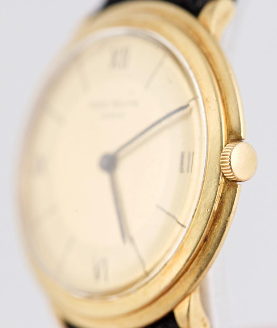 "7808746a9dc Vintage Patek Philippe 18K Gold Calatrava ""Disco Volante"" Ref 2501 ..."