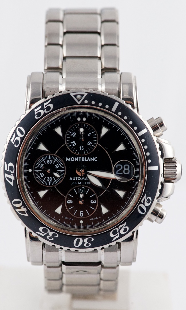 338fee62114e4 Montblanc Meisterstuck Automatic Chronograph Ref 7034 Circa buy on ...