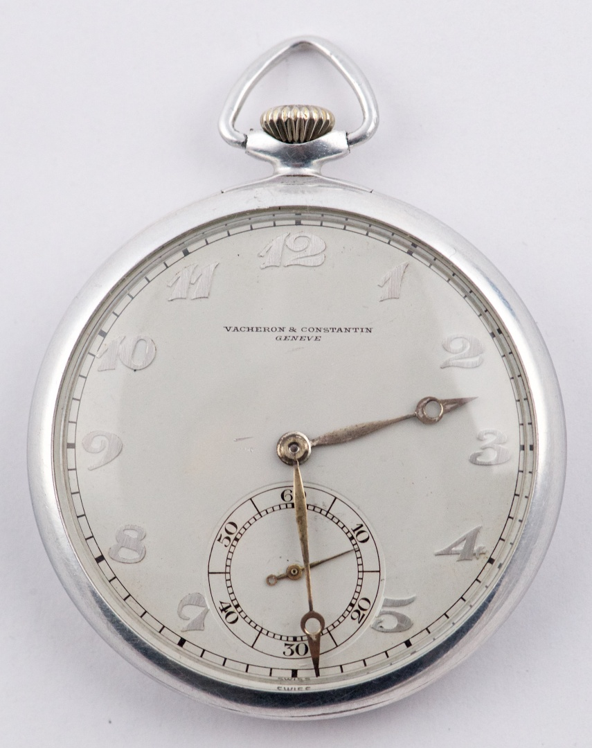 08a4ae66a Very Rare Vacheron Constantin Aluminium Openface Pocketwatch buy on ...