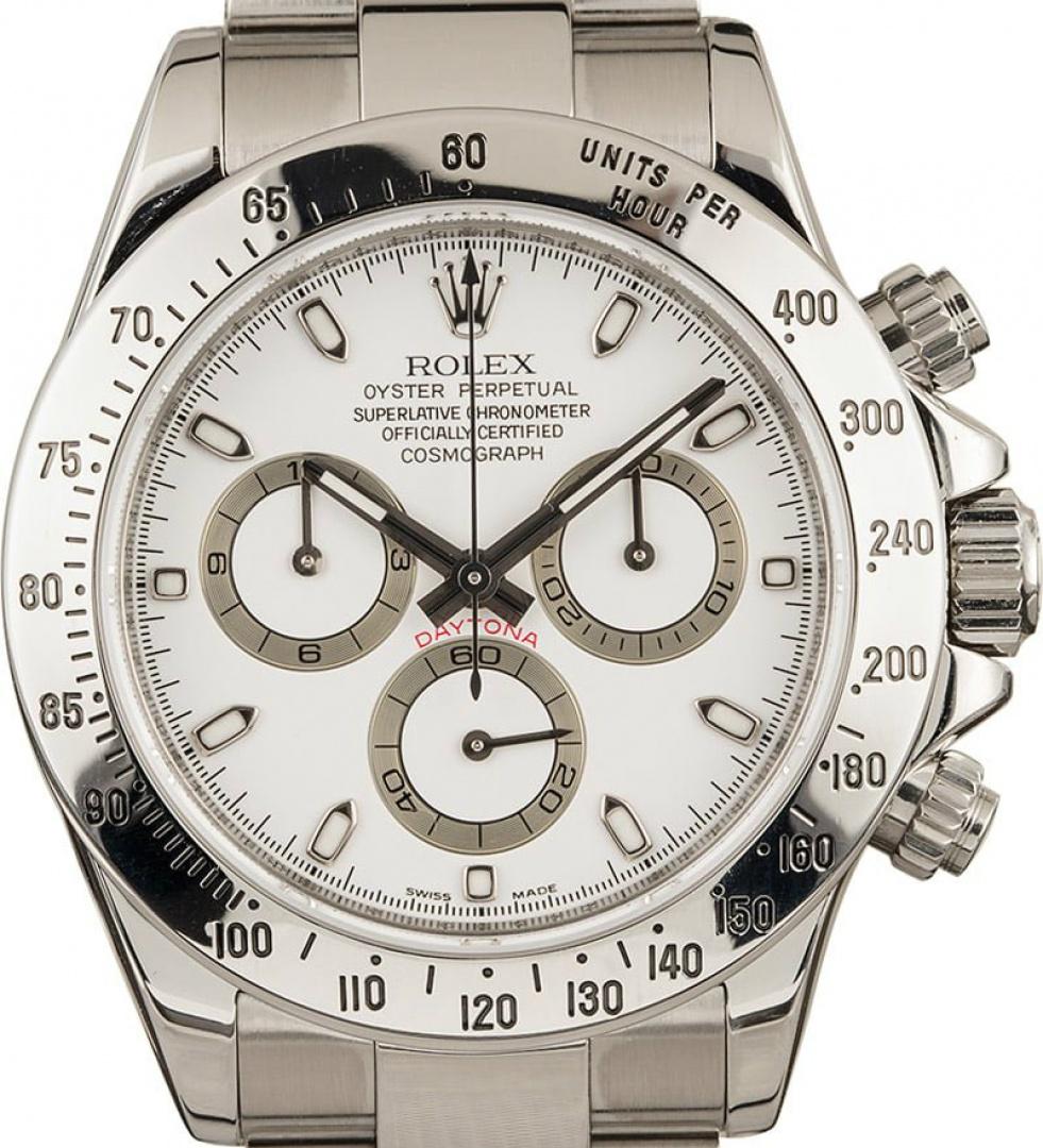 Rolex Daytona Ref 116520 Stainless Steel Watch