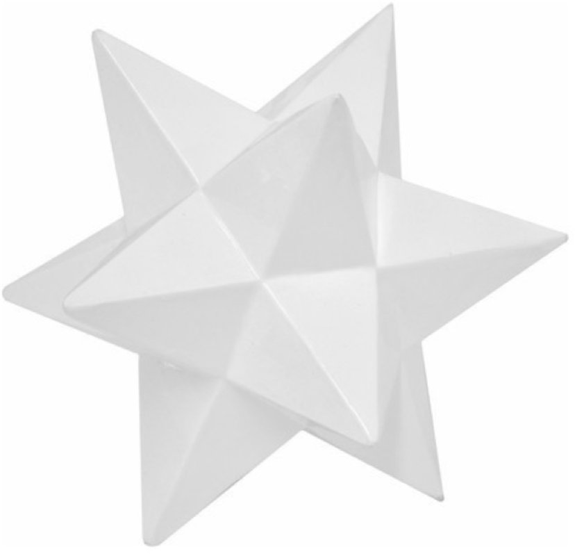 White Star Sculpture