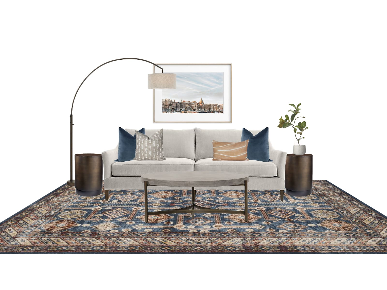Interior Design Warm and Welcoming Sofa