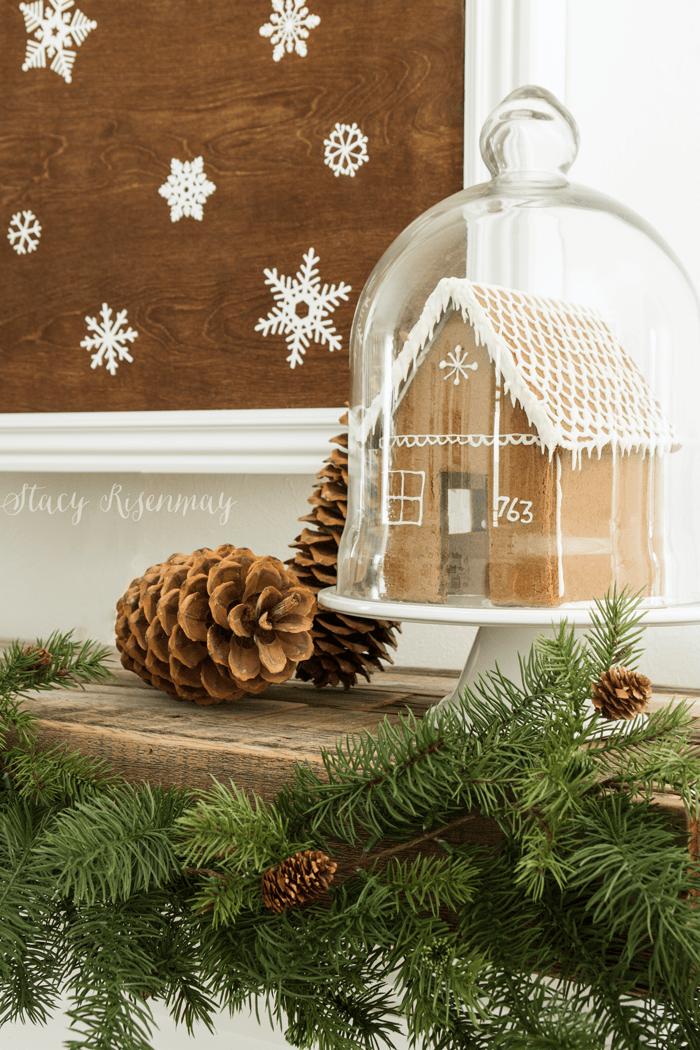 Gingerbread House Display