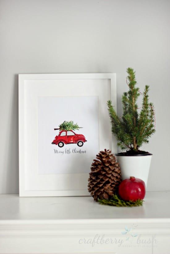 Christmas Framed Artwork