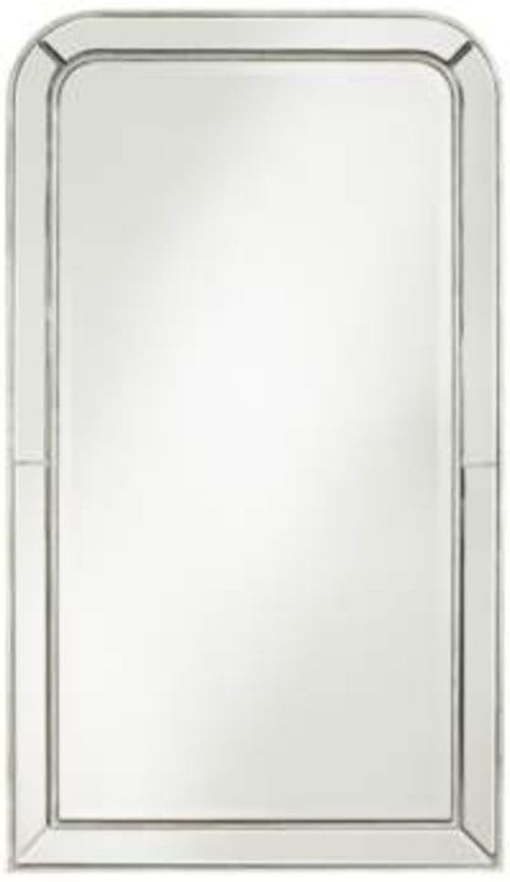 "Finnley Arch Corner 26"" x 45"" Frameless Wall Mirror"