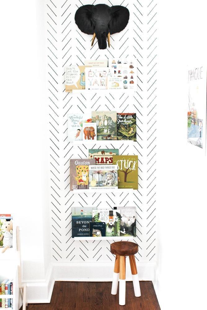 Kids Room Pattern Filled Walls