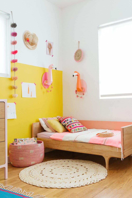 Kids room creative paint