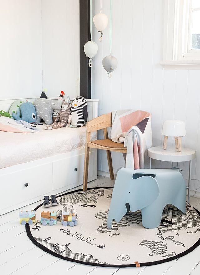 Kids room creative floors